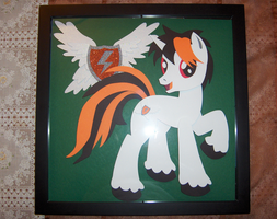 Shadowbox Thunderhawk from The-Paper-Pony by Thunderhawk03