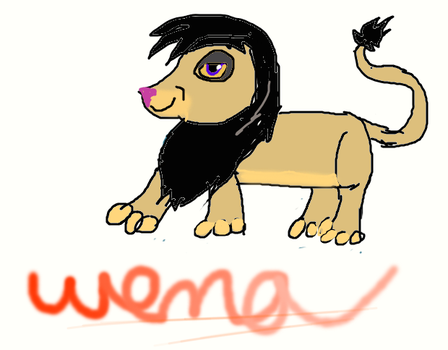 Wema, son of Kovu and Kiara by Legendarryy