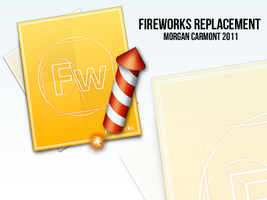 Fireworks Replacement Icon by morgcar