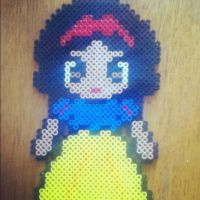 Snow White (Perler Beads) by TifaxZack4ever