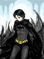 Dick Grayson by yoochan