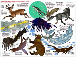 Beast Zodiac/Year by DonnaBarr