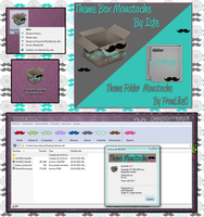 Theme Moustache For Winrar By isfe by Isfe