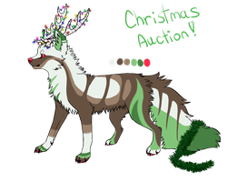 Christmas Canine Auction! -ended- by SummerAdopts