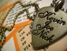 Tix: JB World Tour Necklace by JONASADDICT2