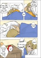 soul x maka xx morning wake by iLonleyMuffin