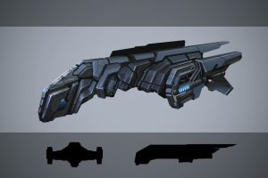 Dropship Concept by JosiahReeves