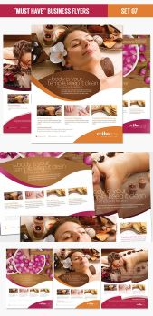 Beauty Spa Flyer Template PSD by EAMejia