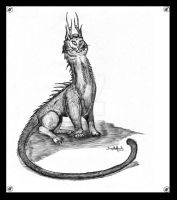 Catdragon by Fregatto