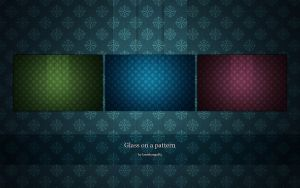 Glass on a pattern by lassekongo83