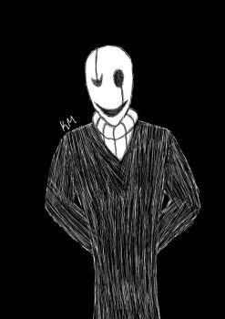 My first gaster by icouldntfindaname1