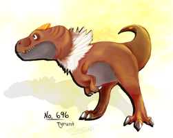 Tyrunt by FlameFatalis