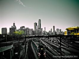 Chicago scape by praveenpankaj