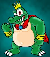 King K.Rool by Nintendrawer