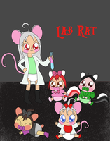 Lab Rat Poster by Bokeol