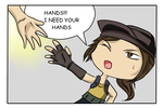 I Need Your hands! by tigerrb