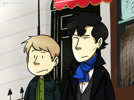 Johnlock by NSYee36