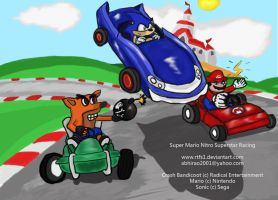 Super Crossover Kart Racing by rtfs1