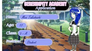 Serendipity Academy Application - Meo Takahashi by InvaderJuz