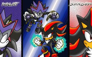 SHADOW VS NIGHT by Crysalia777