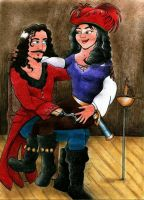 The Scallywag and the wench by syxx