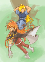 Slayers: Kick'n Back by ahnline