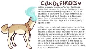 candlehead species rough ref by venonats