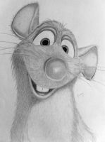 Remy from Ratatouille by BluePencils