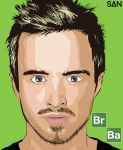My First Vector, Jesse Pinkman by Grizzly96