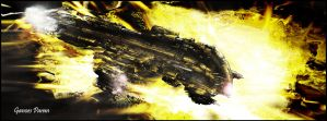 Eve Online Harbringer - Dark by Ganoes-Paran