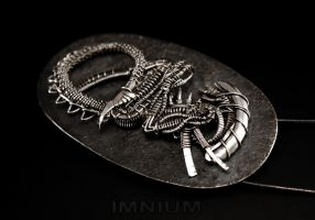 Alien fossil 2.0 by IMNIUM