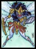 Sketch Card-A-Day 2013: 019 by lordmesa