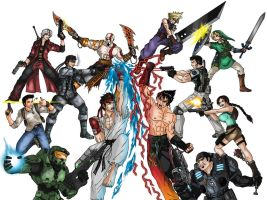 Video Games crossover by taresh