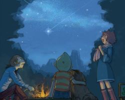A bonfire from MOTHER3 by sirauo