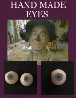 Scarecrow Handmade Eyes by Anesthetic-X