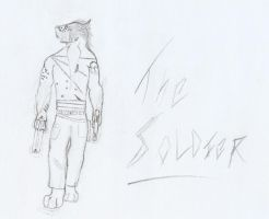 The Soldier by ComsumedDarkness