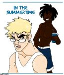 In The Summertime by emif by Shock-to-the-System
