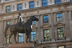 Stock Statue and building by Sheiabah-Stock