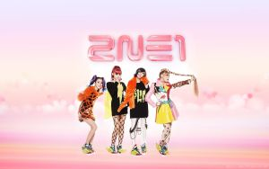 2NE1 - Candy Colours by textureclad
