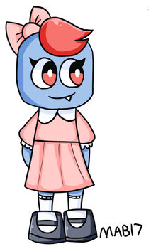 Polly In A Dress by MixelsAngryBirds17