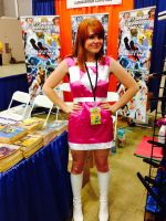 Pink Ranger by Gingerbread Em by The-1One
