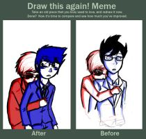 Before After meme by LadyDarthorn