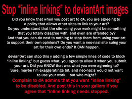 STOP INLINE LINKING by KitsuneAi1998