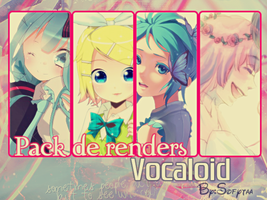 Pack de renders vocaloid by sofytaa