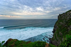 Sunset at Uluwatu 2 by Shooter1970
