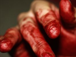 bloody fingers by maddagone