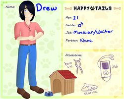 Happy Tails Application - Drew Jepson by wolf-fang-finny