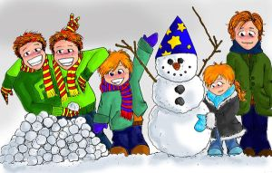 A Weasley Christmas by MRZ-Tonks