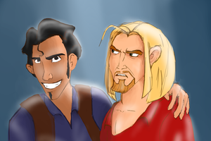 Miguel and Tulio by SoSaucy