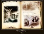 The painted diary by Lileya